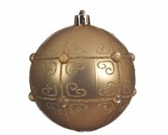 NIGHT BEFORE CHRISTMAS SHATTERPROOF BAUBLES WITH PEARLS