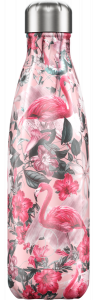 Chilly's Tropical Flamingo Water Bottle 500ml