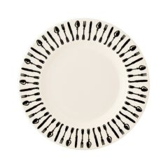 KNIVES AND FORKS 8 1/2IN PLATE