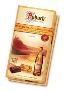 Asbach Brandy Filled Chocolates 24's 250g