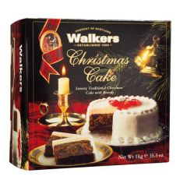 WALKERS CHRISTMAS CAKE
