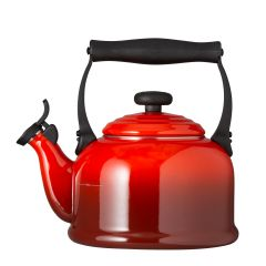 Le Creuset Traditional Kettle with Fixed Whistle 2.1L Cerise
