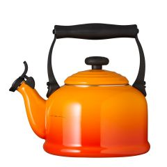 Le Creuset Traditional Kettle with Fixed Whistle 2.1L Volcanic