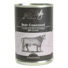 J/LUSTY BEEF CONSOMME