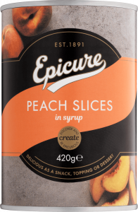 Epicure Peach Slices in Syrup
