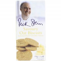 RICK STEIN OAT BISCUITS CHEDDAR