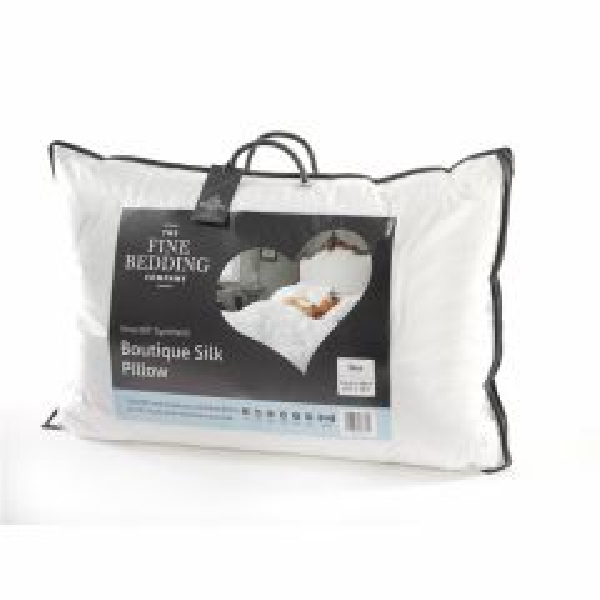 The Fine Bedding Co Boutique Silk Pillow