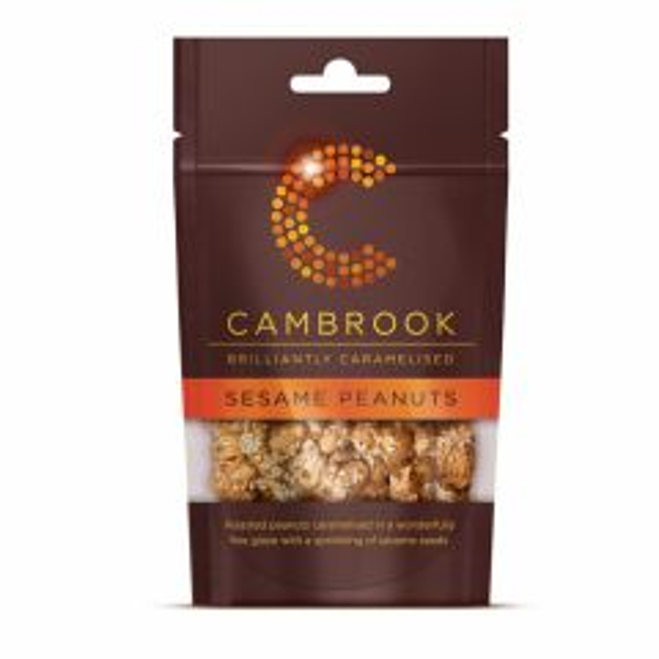 Cambrook Caramelised Sesame Peanuts 80g