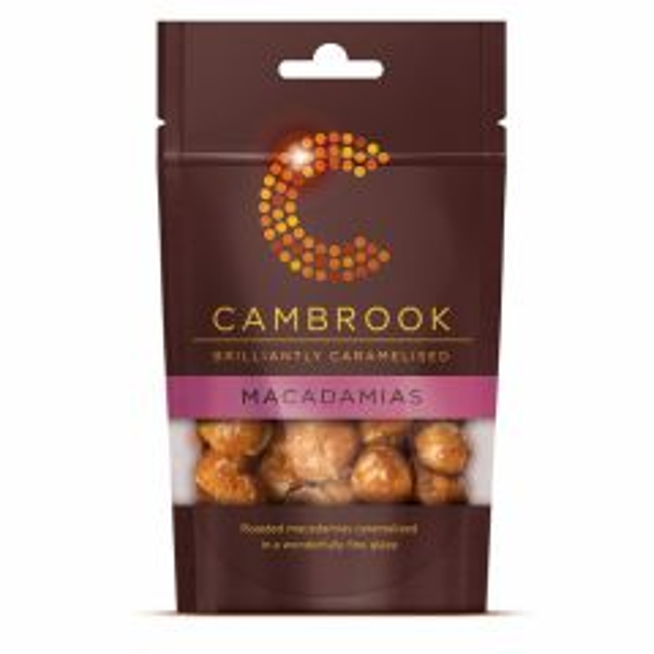 Cambrook Caramelised Macadamias 70g