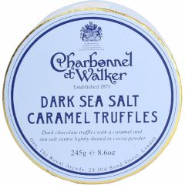 DARK SEA SALT TRUFFLES 245G