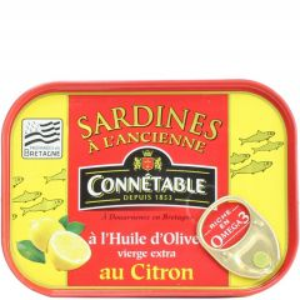 CONNETABLE SARDINES LEMON