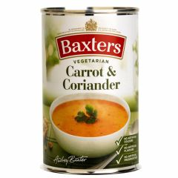 BAXTERS CARROT & CORIANDER SOUP