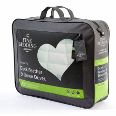 The Fine Bedding Co Duck Feather and Down Duvet 10.5 Tog