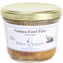LARNERS GUINEA FOWL PATE WITH GRAPES