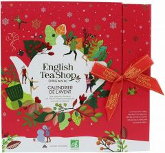 ETS BOOK STYLE RED ADVENT CALENDAR 25S (S)
