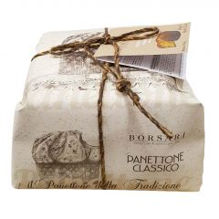 TRADITIONAL PANETTONE LOW BAKED & HAND WRAPPED 1KG