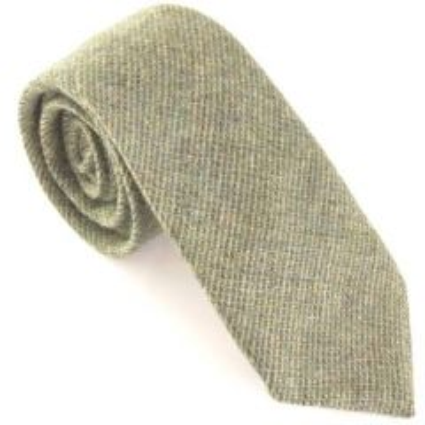 Van Buck Woodland Wool Tie