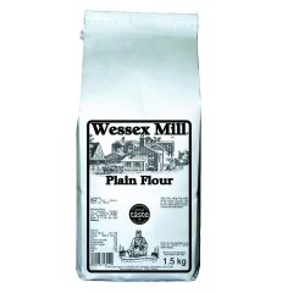 WESSEX MILL PLAIN WHITE FLOUR 1.5KG