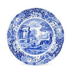 BLUE ITAL PLATE 10in/27cm