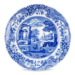 BLUE ITAL PLATE 8in/20cm