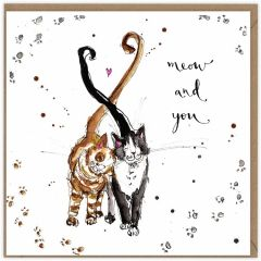 WL25 MEOW AND YOU CARD