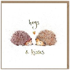 FF17 HOGS AND KISSES CARD