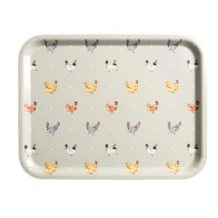 PRINTED TRAY LARGE LAY A LITTLE EGG