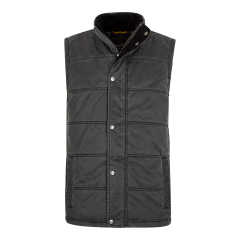 VICTOR PIGMENT PRINTED WADDED GILET