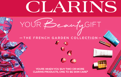 Clarins Gift with Purchase - Bakers and Larners
