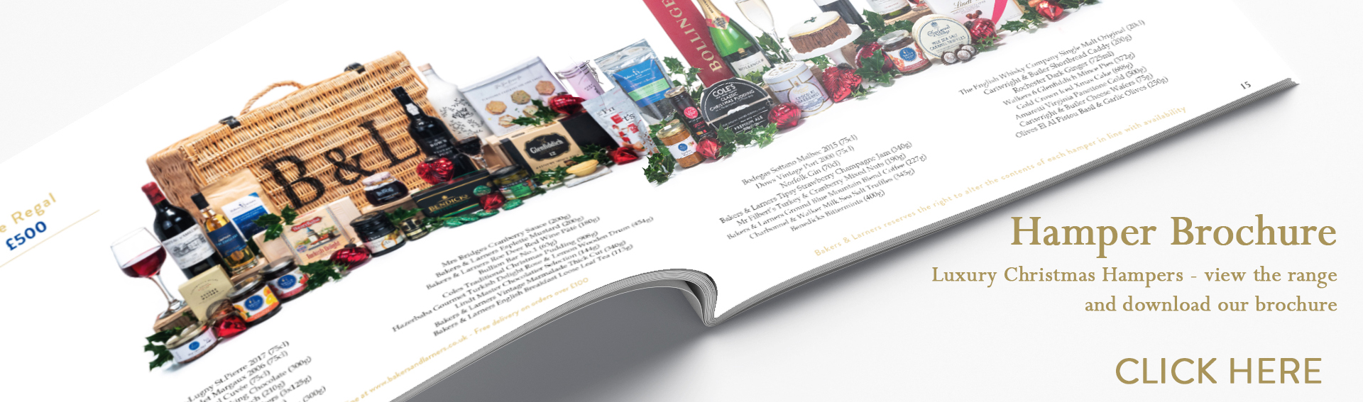 Luxury Christmas Hampers - View Range & Brochure