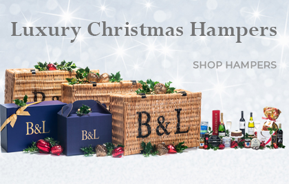 Luxury Christmas Hampers - Bakers and Larners