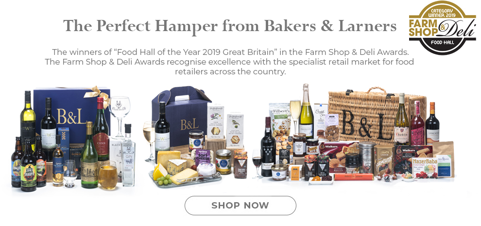 Luxury Hampers from Bakers and Larners of Holt