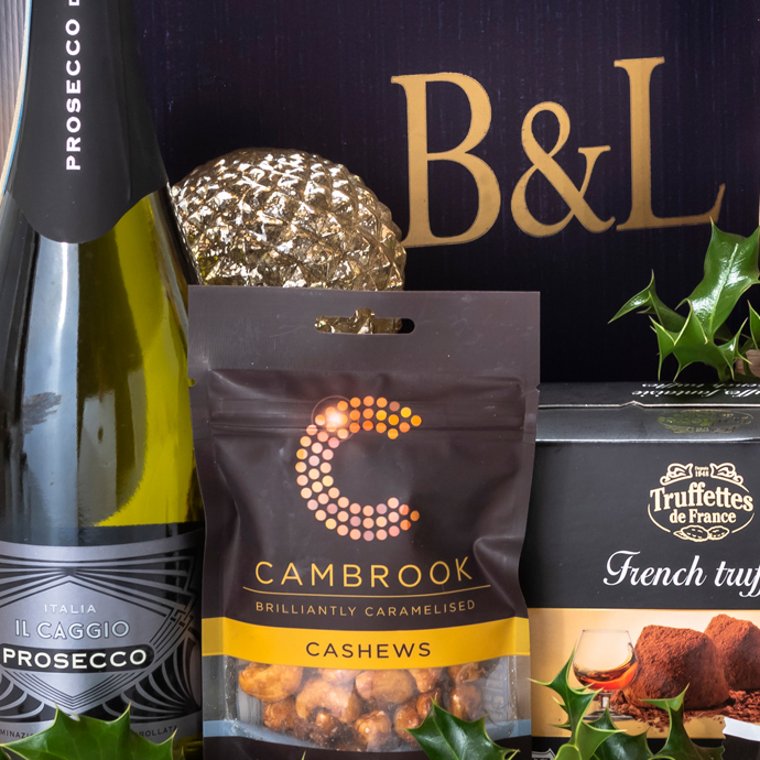 The Bakers & Larners 2018 Christmas Hamper Collection - A Taste of Festive Luxury