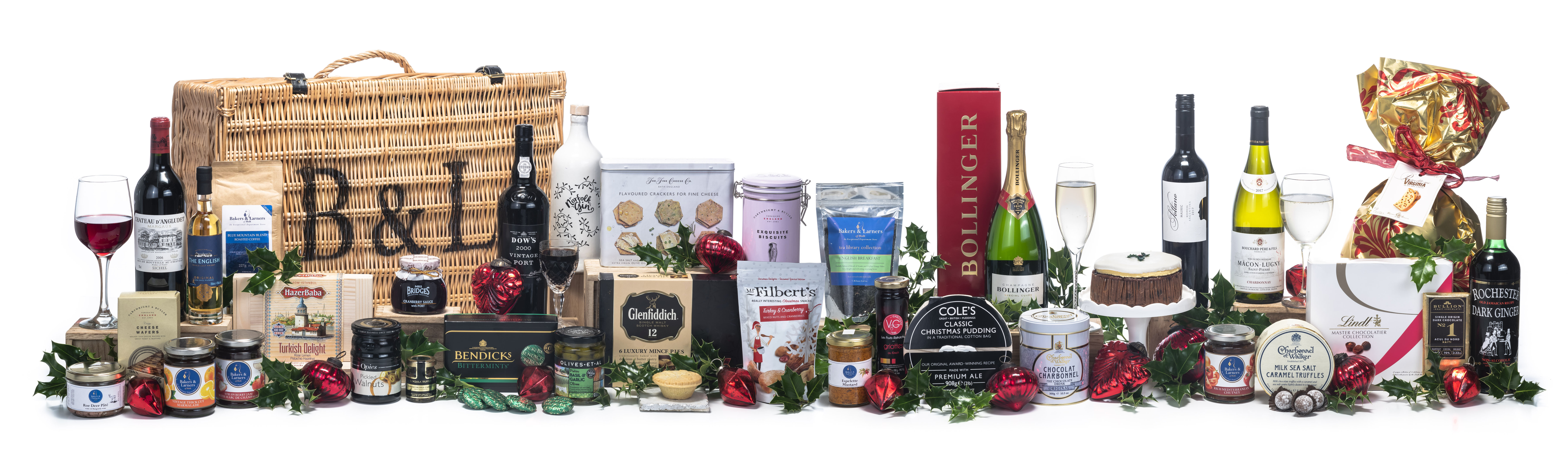 The Regal Christmas Hamper from Bakers and Larners