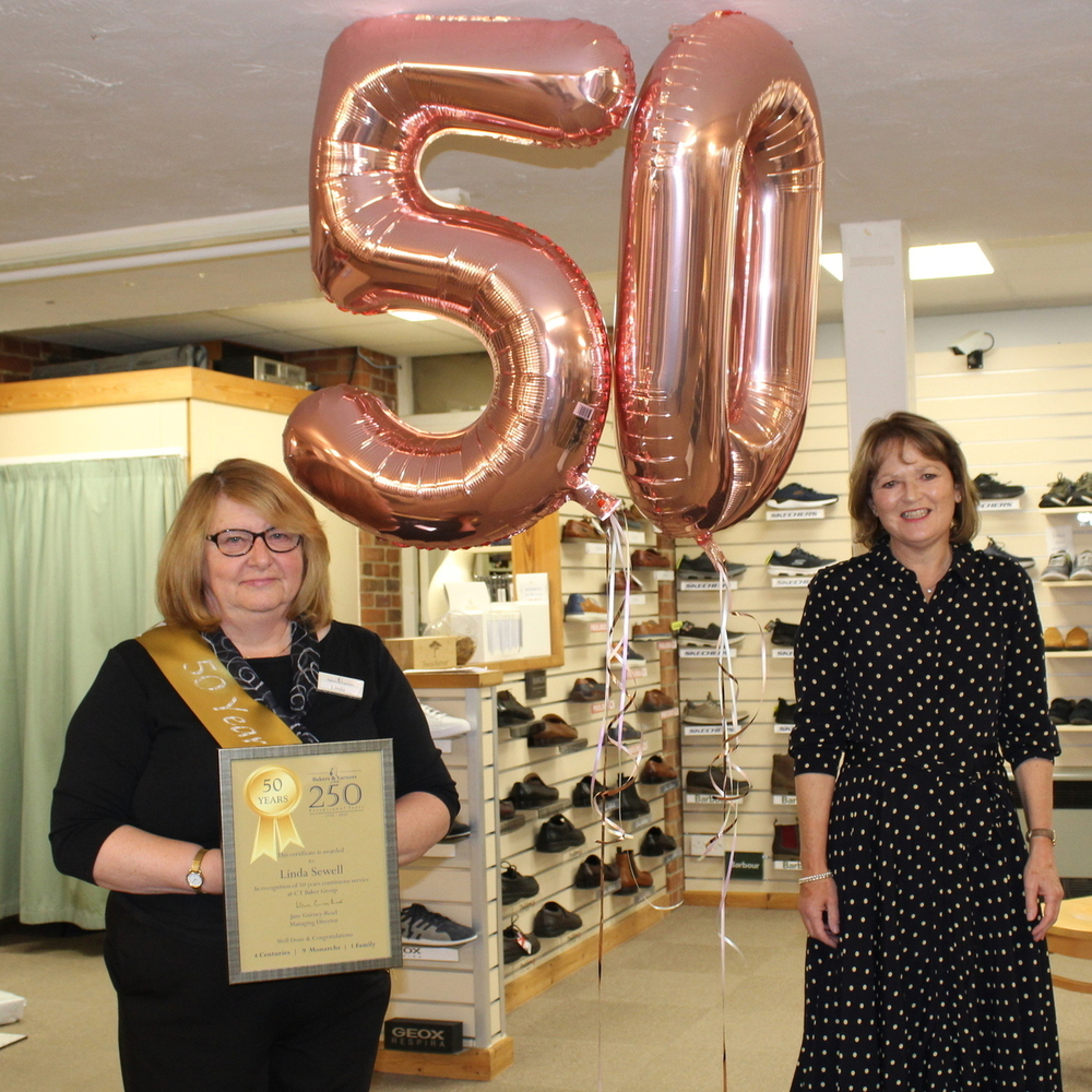 Linda marks 50 years in retail